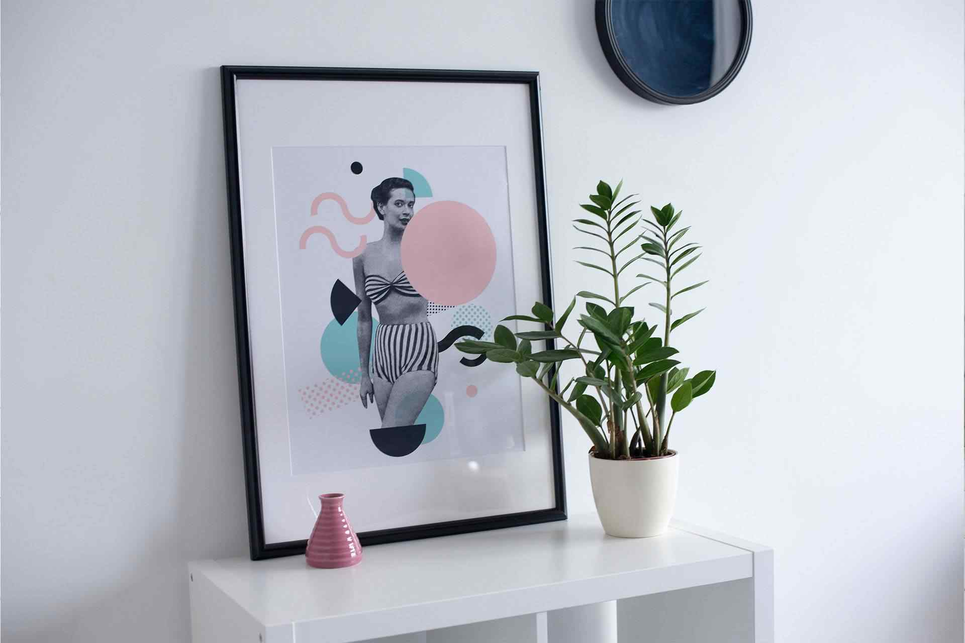 How to frame a poster
