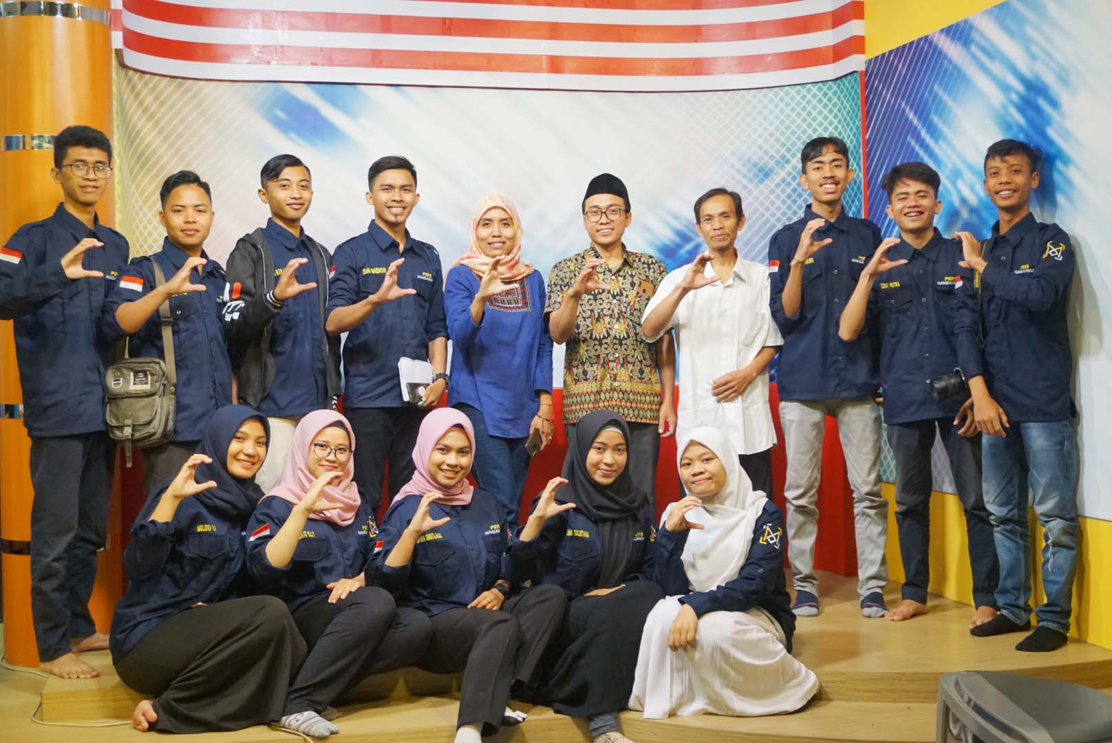Aktivis Pers Mahasiswa Universitas Hamzanwadi Adakan Visit Media