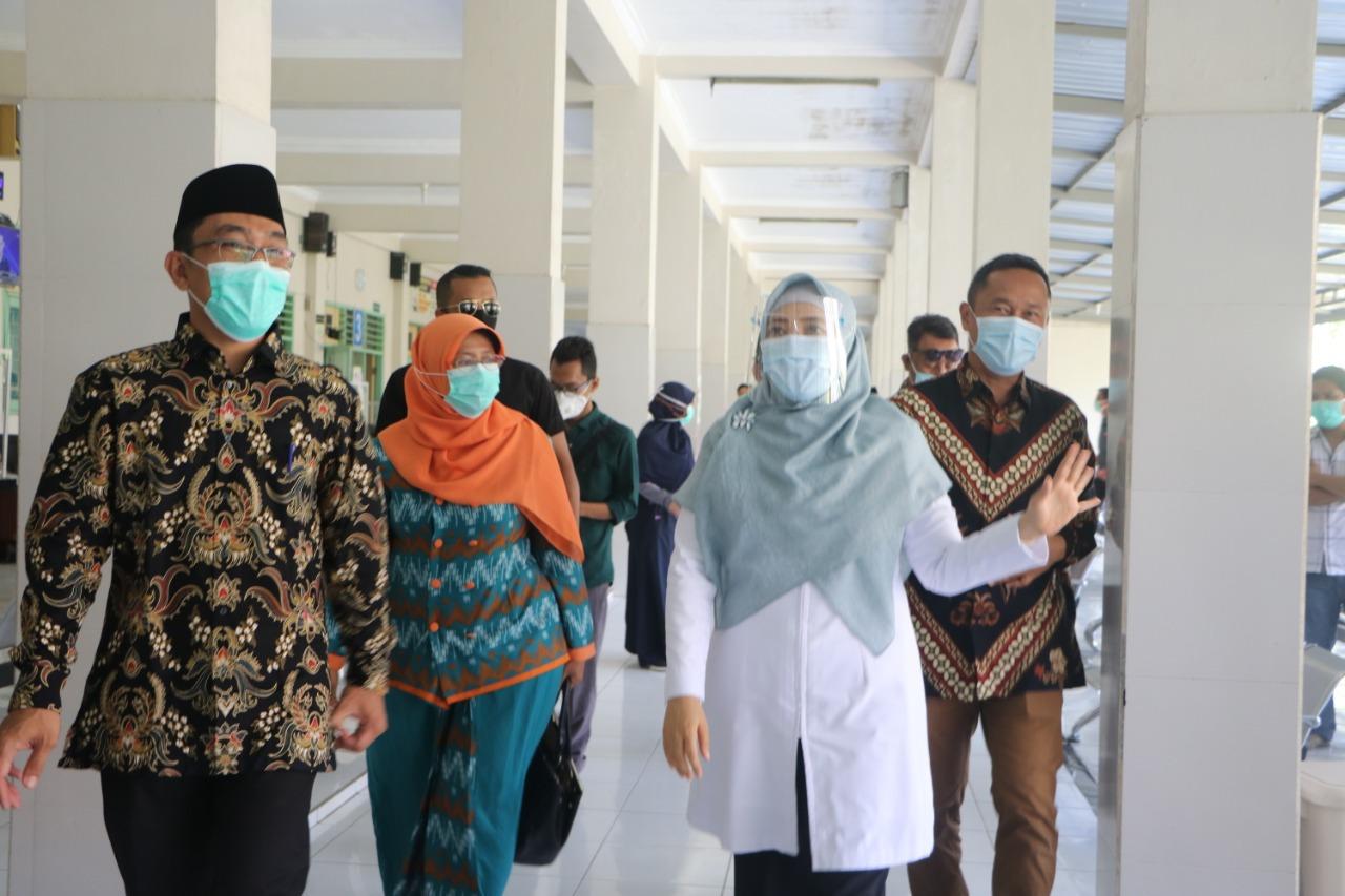 Semangati Nakes, Wagub himbau Masyarakat Taat Protokol Kesehatan