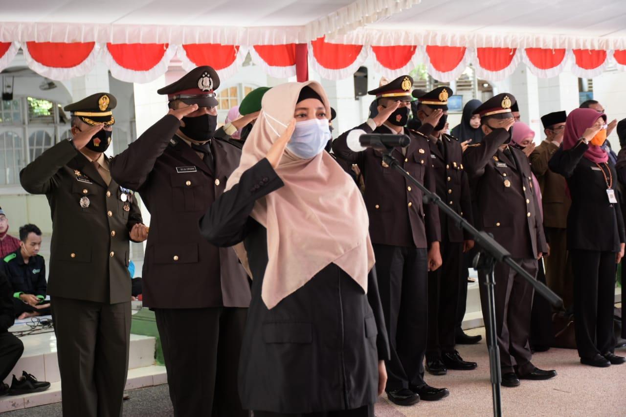 Wagub NTB Pimpin Upacara Hari Pahlawan dan Ziarah Nasional ke Taman Makam Pahlawan