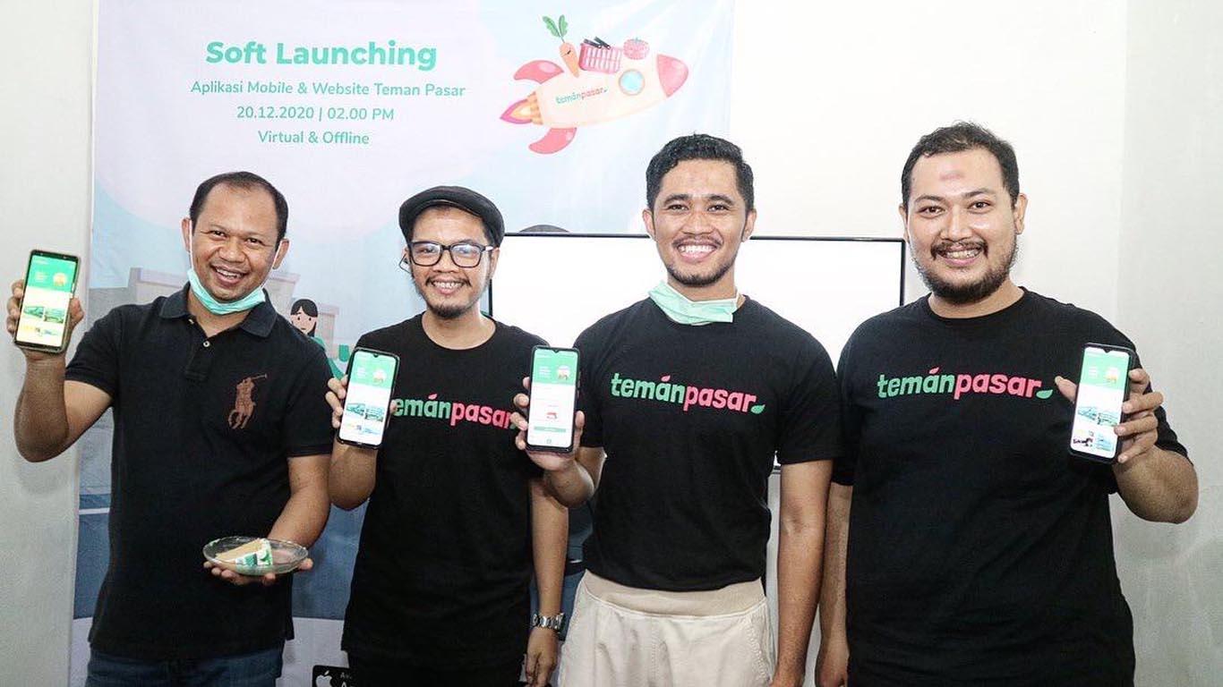 Teman Pasar, Platform Digital Belanja Kebutuhan Harian di Pasar Tradisional