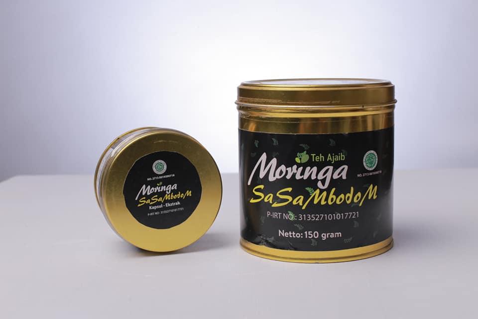 Bangga! Teh Moringa Kidom, Minuman Berkhasiat dari NTB yang Mendunia