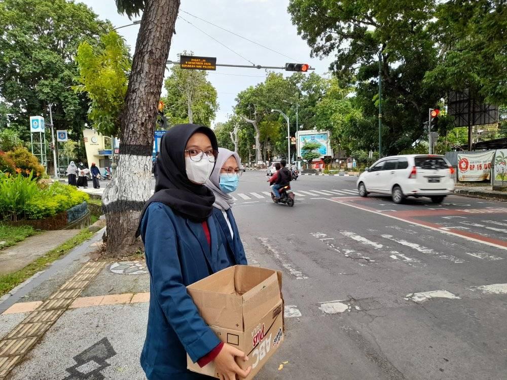 Peduli Bencana, Gerakan Turun ke Jalan Ormawa se-Universitas Mataram